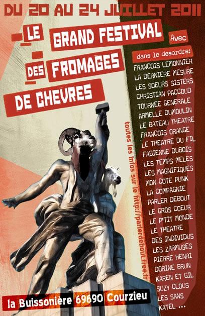 Festival des Fromages de Chèvres Affiche